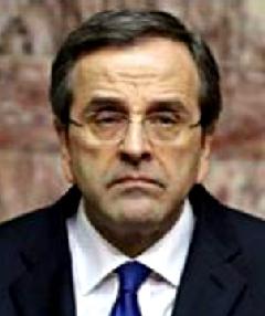 Premier ministre Grec Samaras, larbin de la Troïka